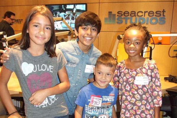 Karan Brar and Skai Jackson from Disney series    Jessie    visited    Karan Brar And Skai Jackson