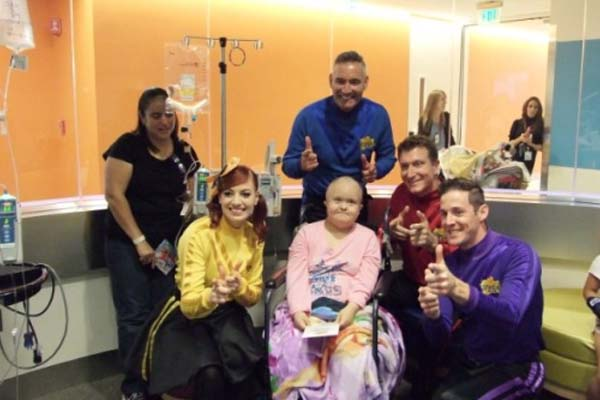 Patients at CHOC Children's Hospital shook their sillies out ...