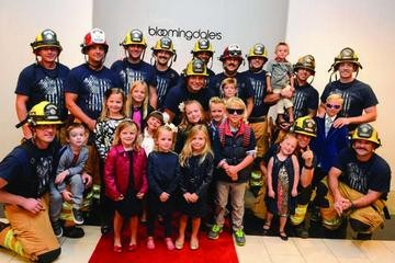 Bloomingdale's Fashion Show Each year members of our local heroes of the Orange County Fire Department join our little heroes of CHOC Children's to ignite the runway for a great cause.