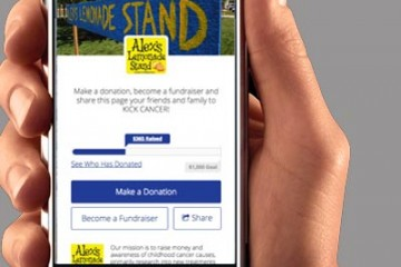 Go MobileCreate a virtual lemonade stand, have a bake sale, car wash or sell other kinds of goods and accept donations via your supporters' mobile phones.