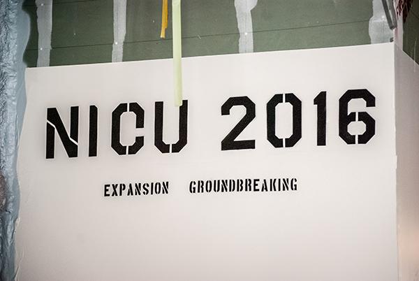 NICU groundbreaking 5
