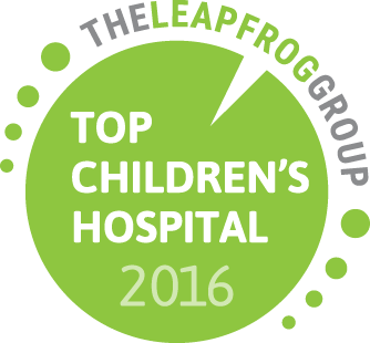 2016 Top Children's Hospital