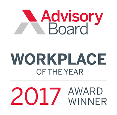 Advisory Board Workplace of the Year