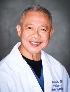 Dr. Felizardo S. Camilon, Pediatric Otolaryngology (ENT)