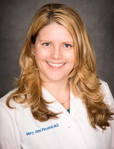 Dr. Mary Jane Piroutek, Pediatric Emergency Medicine
