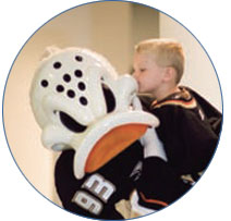 Anaheim Ducks and CHOC Team Up for Children
