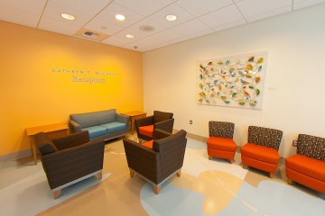 Oncology Reception Lounge