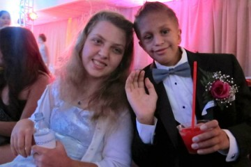 Cute couple at the Oncology Prom