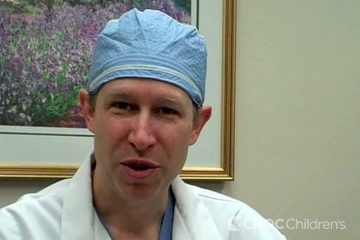 Dr. Phillip Richardson advises not to eat or drink before surgery