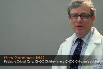 Why Dr. Gary Goodman choose pediatrics and CHOC Children's