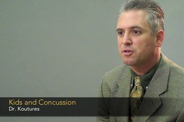 Dr. Chris Koutures - Symptoms of concussions