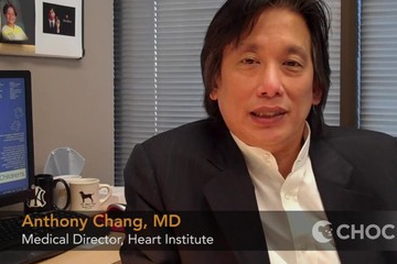 Dr. Anthony Chang takes pleasure in seeing his patients grow