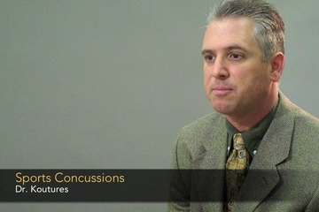 Dr. Chris Koutures - Seeing signs of concussions