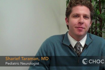 Why Dr. Sharief Taraman entered pediatrics