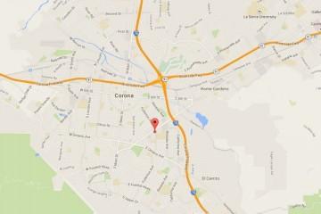 Map showing location of CHOC Children's Health Center Corona