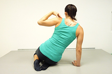 Scoliosis home exercise