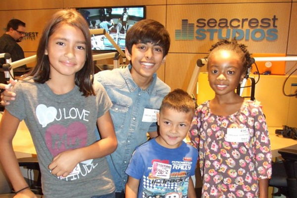 Karan Brar, Skai Jackson Hang Out at CHOC Children's ...