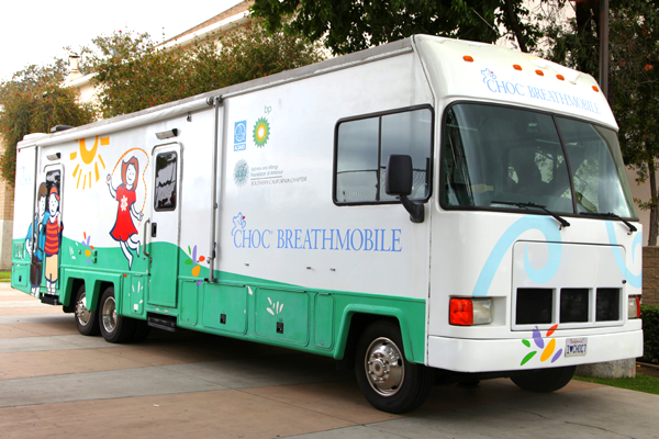 CHOC Children's Breathmobile mobile asthma clinic