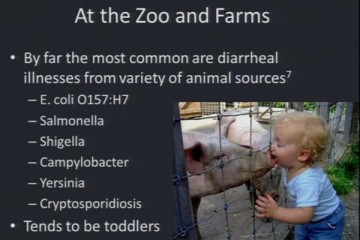 Dr. Jennifer Green - at the zoo