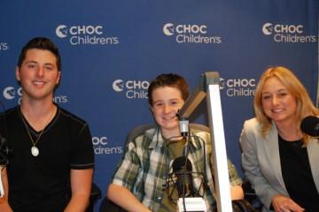 Kelly McKinnon with Brendan, Cody, and Mairene