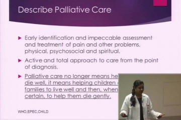 Palliative care presentation