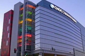Exterior CHOC Children's Bill Holmes South Tower