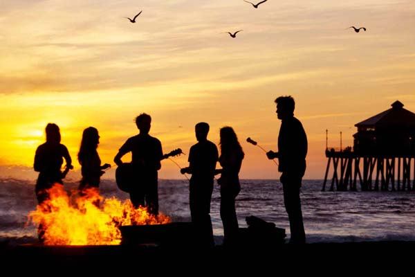 AYA Beach Bonfire - CHOC Children's