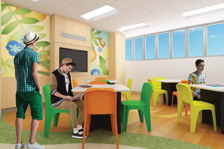 Mental health initiative choc children 39 s for Activity room
