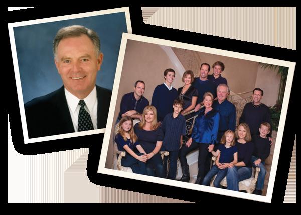Jay Kear and family