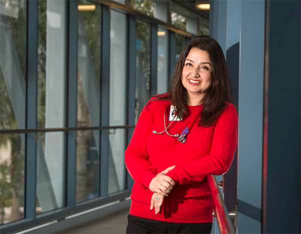 Dr. Negar Ashouri, a pediatric infectious disease specialist,