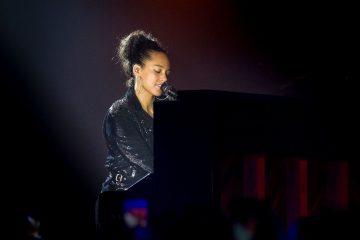 Alicia Keys at CHOC Cherishes Children Gala