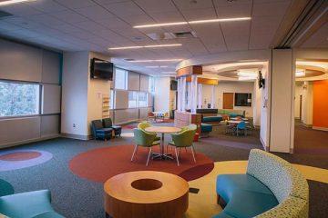 Reception area of the Tidwell Procedure Center