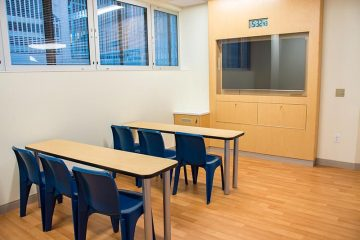 Mental health unit classroom