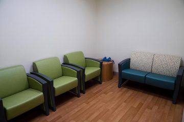 Mental health unit consultation room