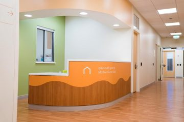 Mental health unit front desk