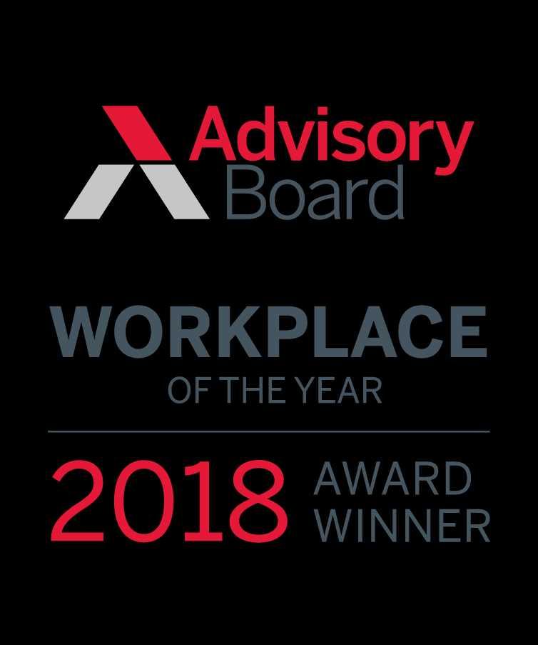 Advisory Board Best Workplace Award