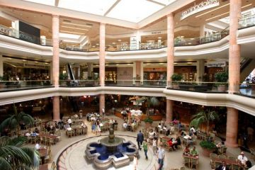 Interior view of Fashion Island