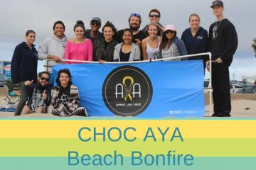 AYA Beach Bonfire