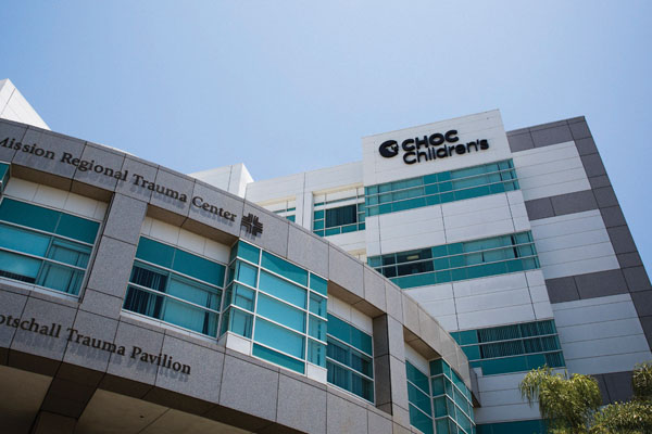 Exterior view of CHOC Children's Mission Hospital