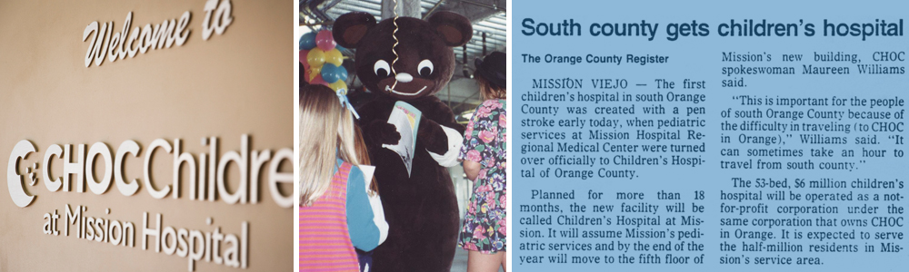 CHOC Children's at Mission Hospital opens