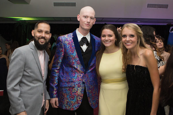 Teens at the oncology prom