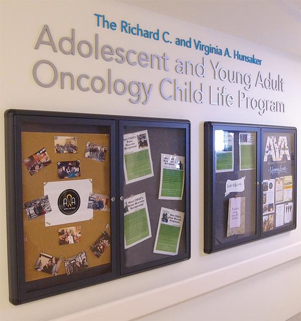 AYA Oncology Child Life Program