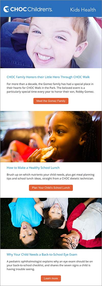 Kids Health Newsletter