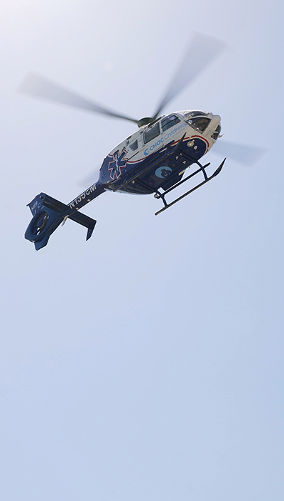 CHOC1 Helicopter Takes Flight