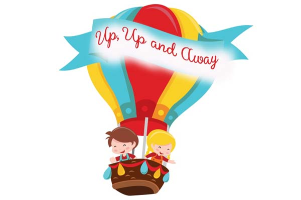 Image result for up up and away