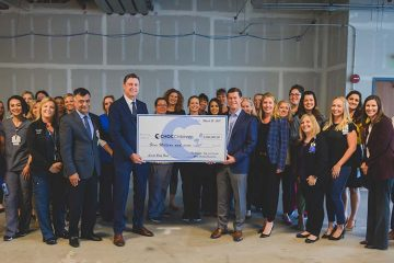 CHOC Foundation check presentation