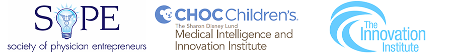 SOPE, CHOC Children's Medical Intelligence and Innovation Institute, The Innovation Institute logos
