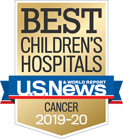 US News and World Report Best Children's Hospitals Award for Cancer