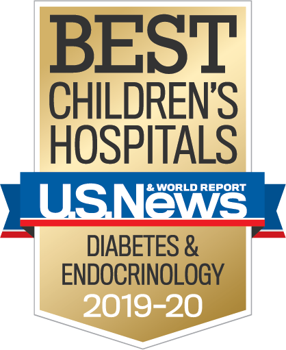 US News and World Report Best Children's Hospitals Diabetes & Endocrinology