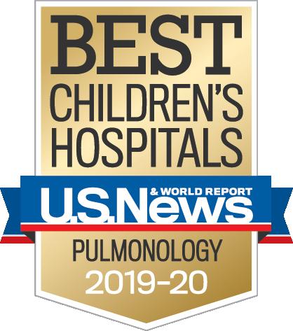 US News & World Report Top Children's Hospitals Pulmonology